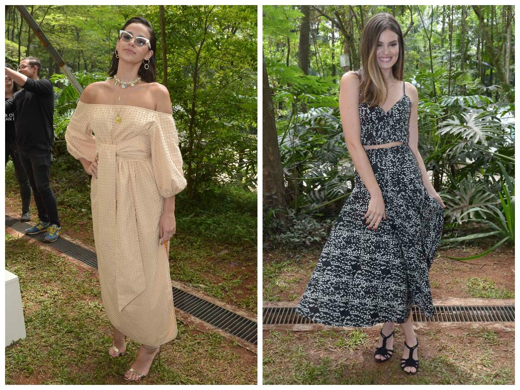Bruna Marquezine e Camila Queiroz (Fotos: Francisco Cepeda/AgNews)