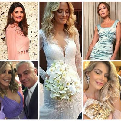 Casamento de Ticiane: veja marcas dos looks da noiva e convidadas