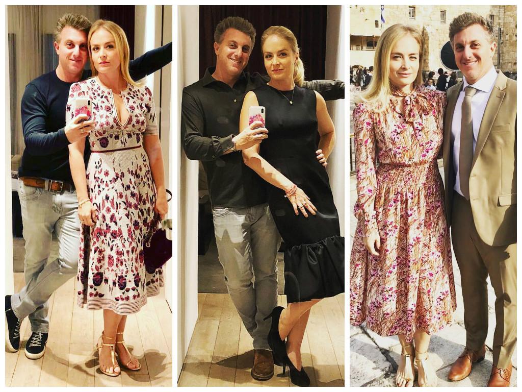 Angélica usa vestidos de até R$ 8,4 mil em viagem a Israel