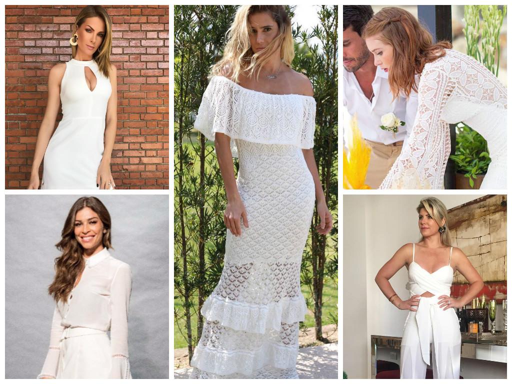 Réveillon: 5 looks brancos das famosas para se inspirar