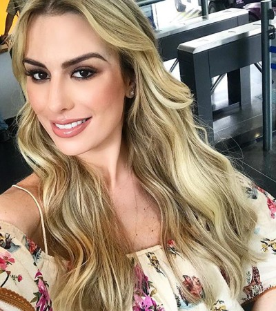 Fernanda Keulla acerta com vestido ciganinha para BBB18