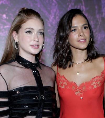 Marina R. Barbosa e Marquezine apostam em looks sensuais