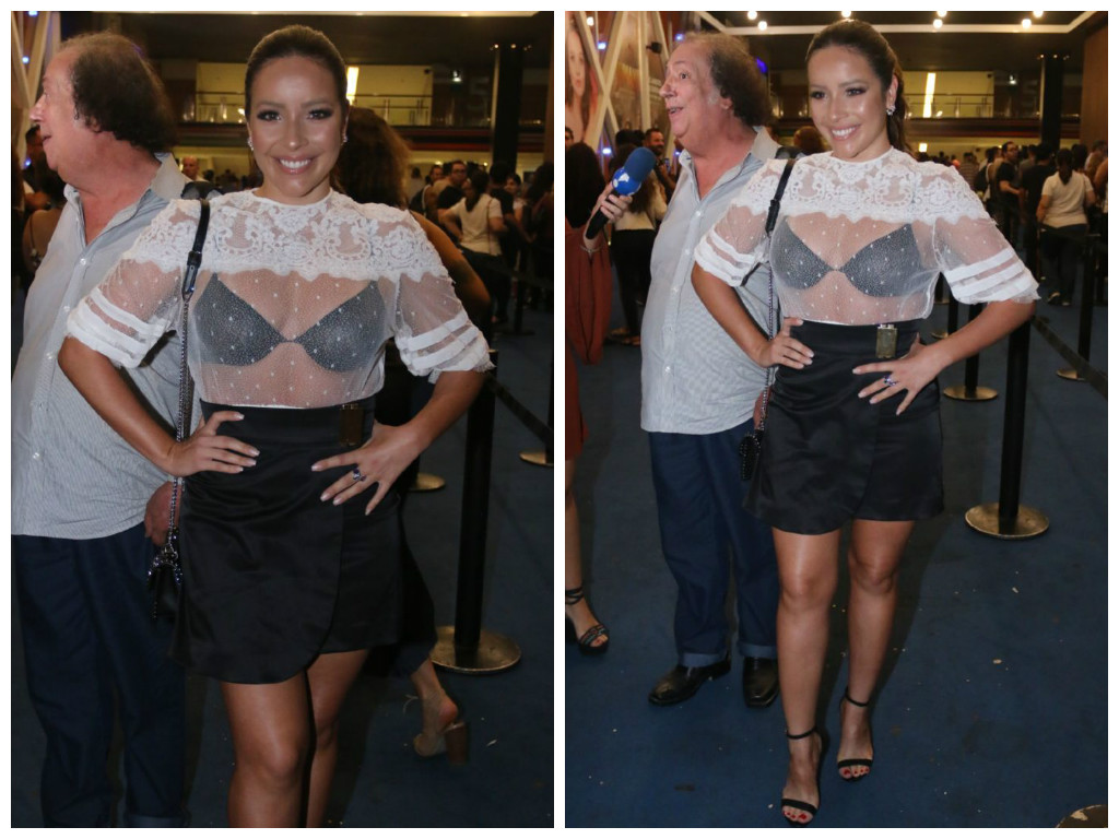 Renata Dominguez (Fotos: Daniel Pinheiro/AgNews)