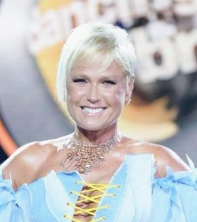 "Xuxa estreia ""Dancing Brasil"" com look de R$ 12 mil"