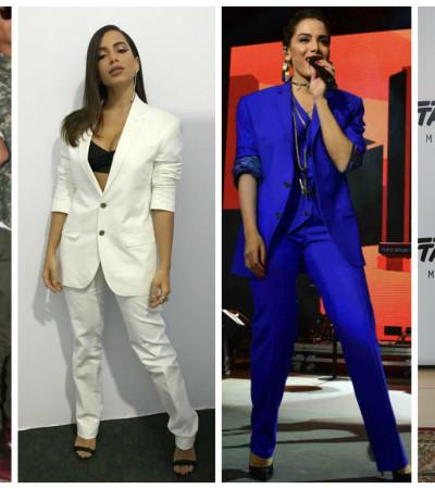 Anitta em Harvard: veja 4 looks elegantes e sérios da cantora