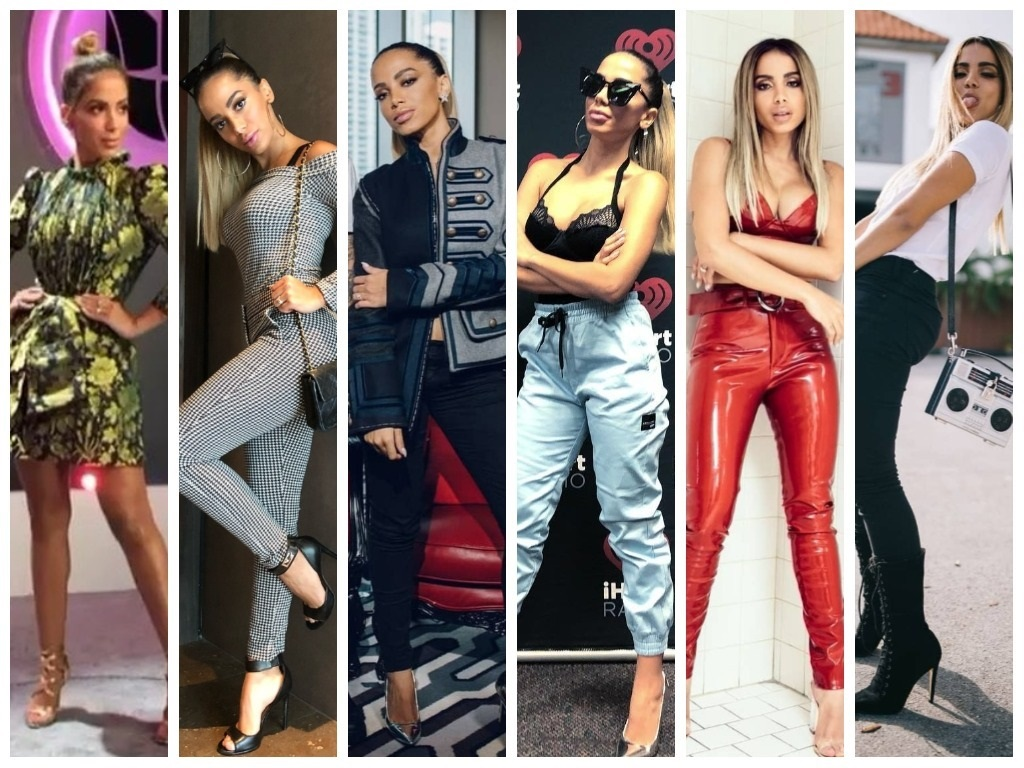 Anitta veste 6 looks repletos de tendências em Miami
