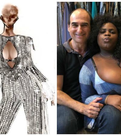 Baile da Vogue: Amir Slama veste Jojo com look de R$ 40 mil