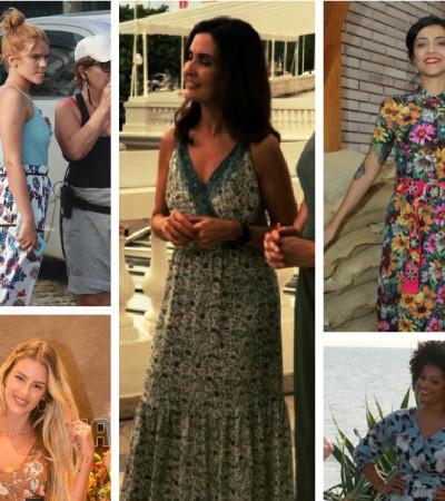 Fátima Bernardes e mais usam floral: veja erros e acertos