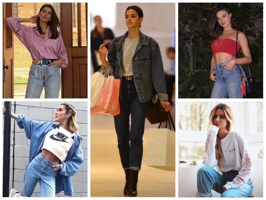 Famosas ensinam 5 maneiras estilosas de usar 'mom jeans'