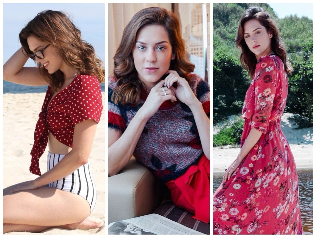 Looks vermelhos da Sophia Abrahão (Fotos: @sophiaabrahao/Instagram/Reprodução)