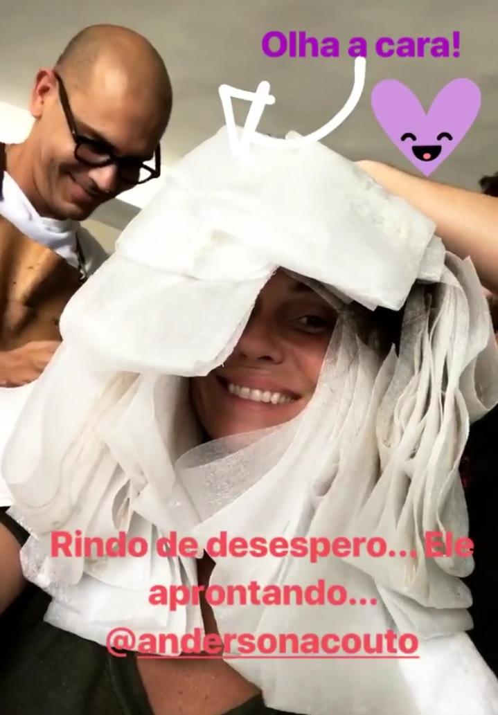 Giovanna Antonelli (Fotos: @gioanto/Instagram Stories/Reprodução)