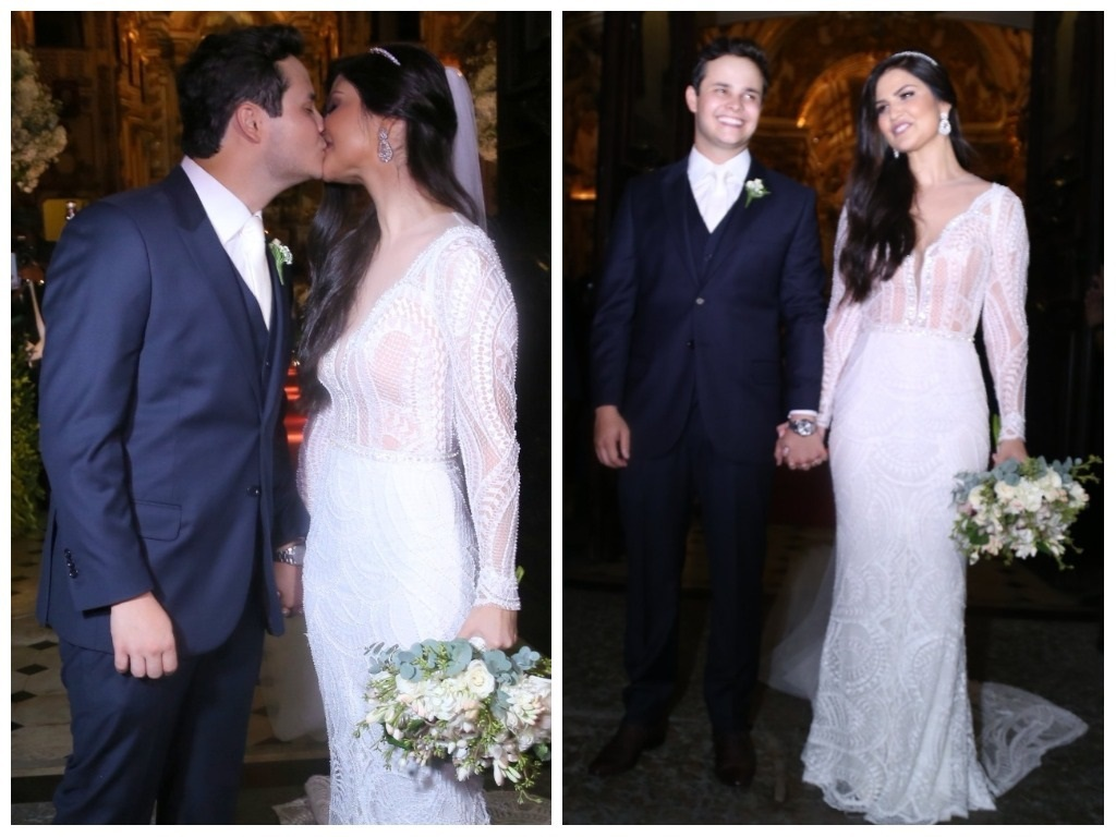 Matheus e Paula Aires (Fotos: Anderson Borde/AgNews)