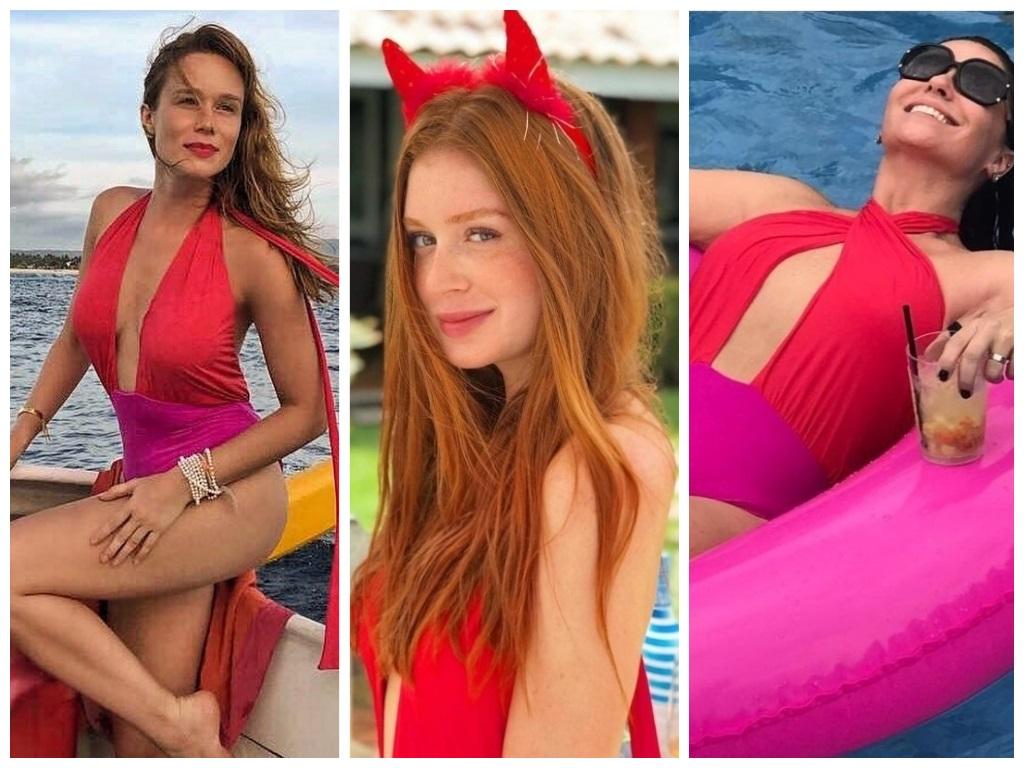 Mariana Ximenes, Marina Ruy Barbosa e Giovanna Antonelli (Fotos: Instagram/Reprodução)