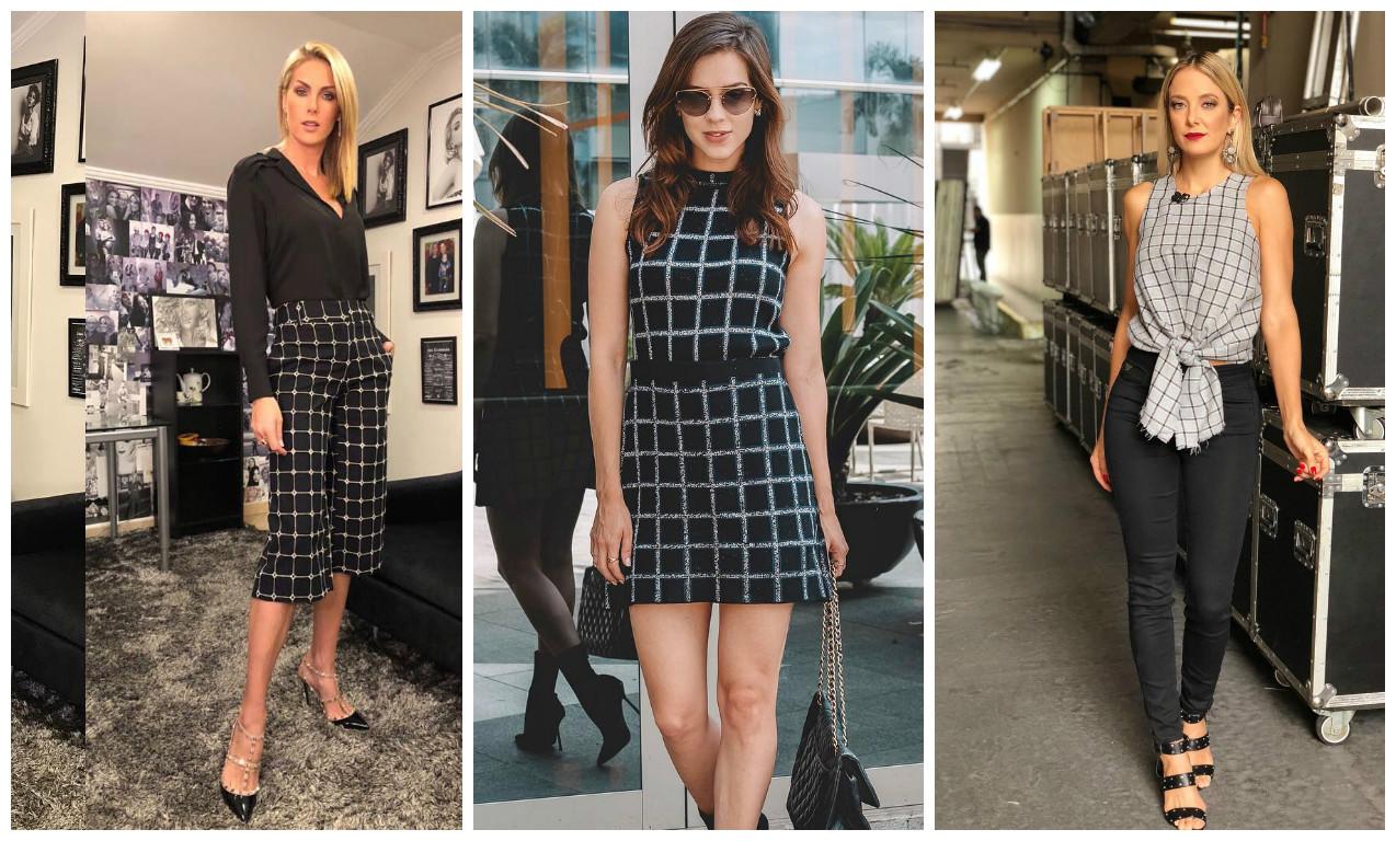 Ana Hickmann, Sophia Abrahão e Tici Pinheiro (Fotos: Reprodução/Instagram)