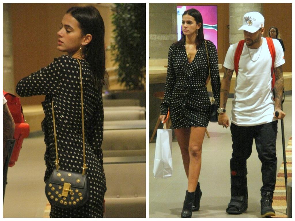 Bruna Marquezine entra na moda do poá com vestido de 9,1 mil