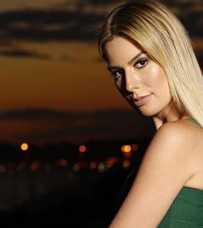 Fernanda Keulla aposta em look sensual e justo na final do BBB18