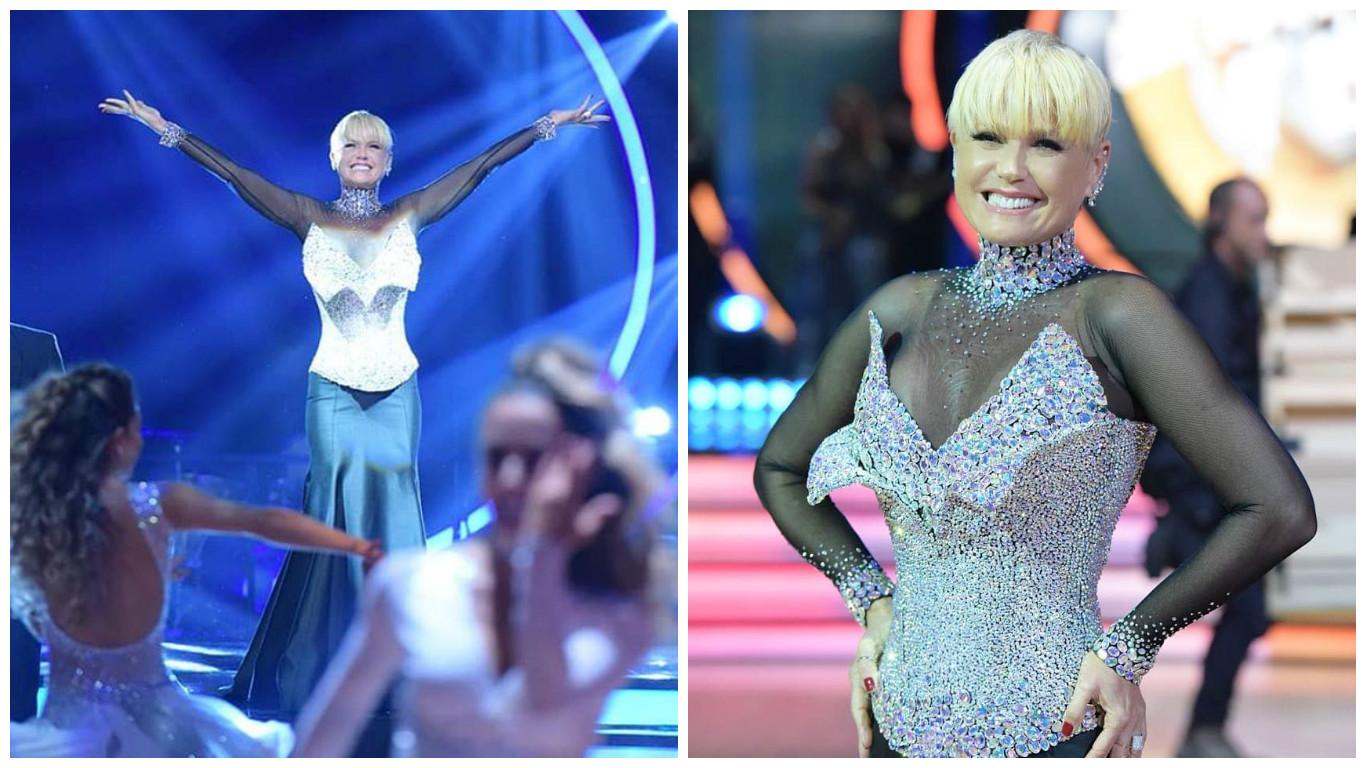 "Xuxa na final do ""Dancing Brasil"" (Reprpdução/Instagram/@xuxameneghel)"