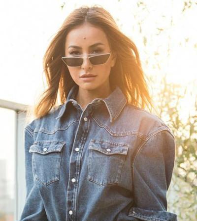 "Grávida, Sabrina Sato aposta na tendência do ""jeans da mamãe"""