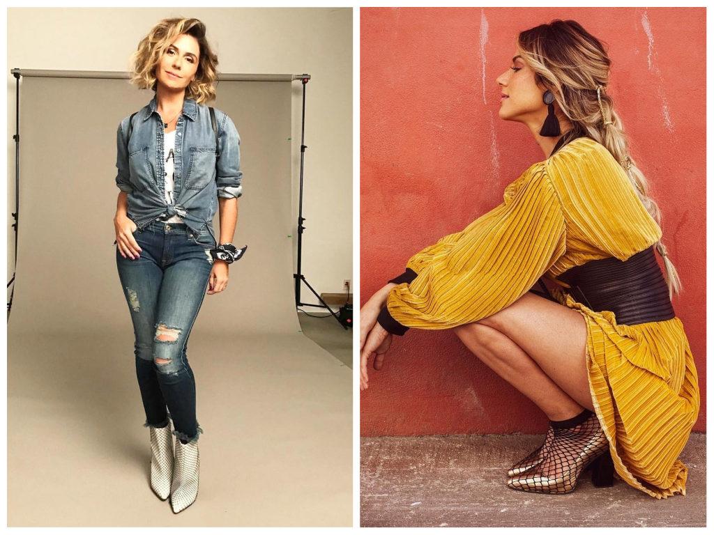 Giovanna Antonelli e Giovanna Ewbank (Fotos: Reprodução/Instagram)