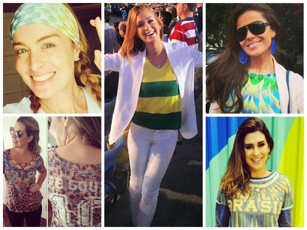 Copa: Copie os looks das famosas para torcer com estilo