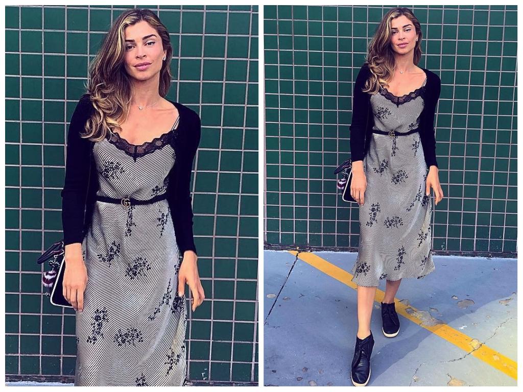 Fashion: Grazi Massafera ensina a usar vestido tipo camisola