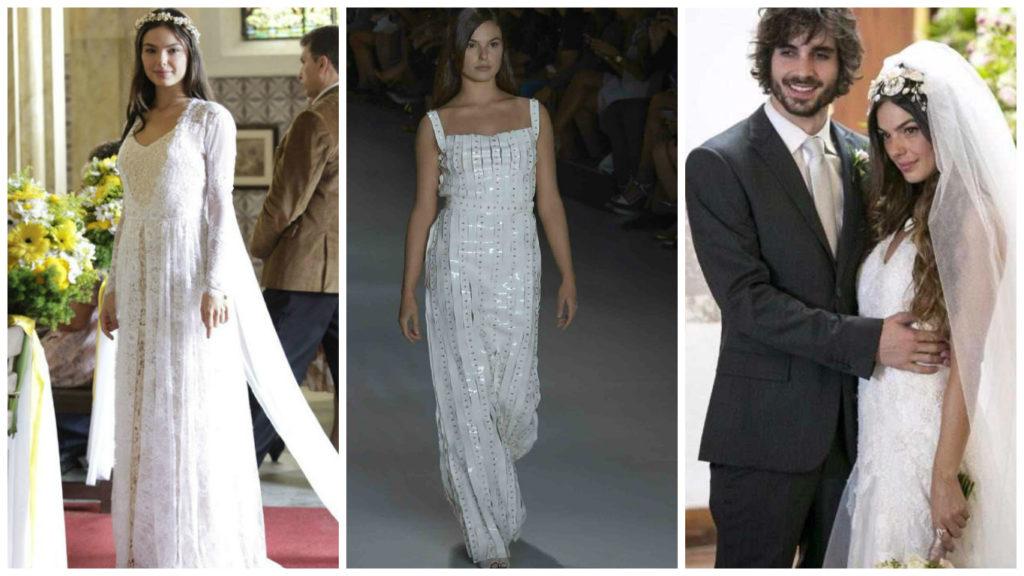Casamento: relembre 3 vestidos de noiva de Isis Valverde