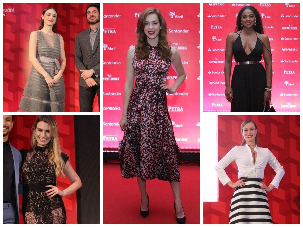 Vote: Veja looks de Sophia Abrahão e mais famosas em prêmio
