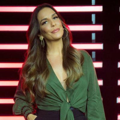 Ivete Sangalo usa 2 looks na TV Globo que alongam e modelam