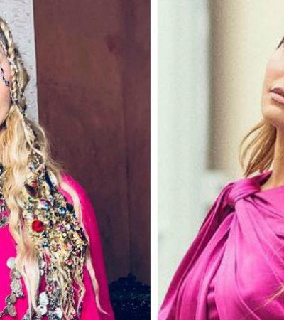 "De Madonna a Sato, famosas amam o estilo ""purple pink power"""