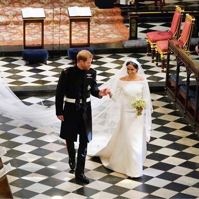 Vestido de noiva de Meghan Markle ganha exposição em Windsor