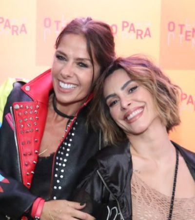 Galisteu e Cleo usam mix de estilos em estreia de novela