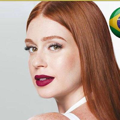 Marina R.Barbosa é indicada entre os 100 rostos mais bonitos