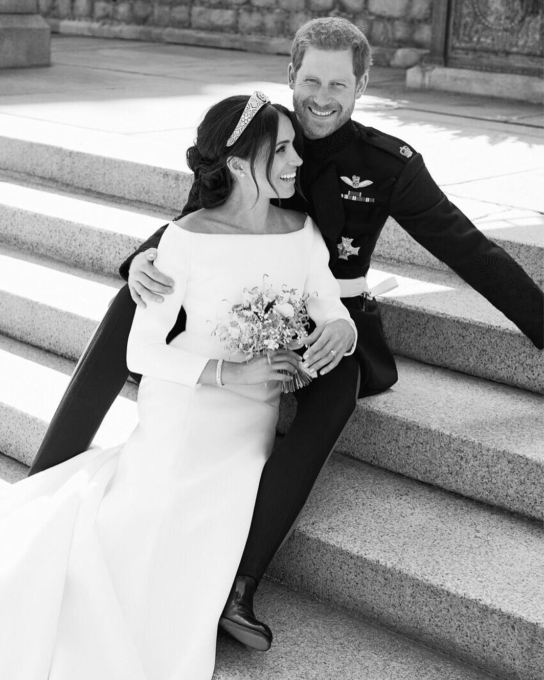 Casamento do príncipe Harry e de Meghan Markle (Foto: Kensignton Palace/Reprodução/Instagram)