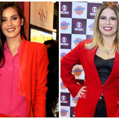 De Camila Queiroz a Marília Mendonça: vermelho invade looks