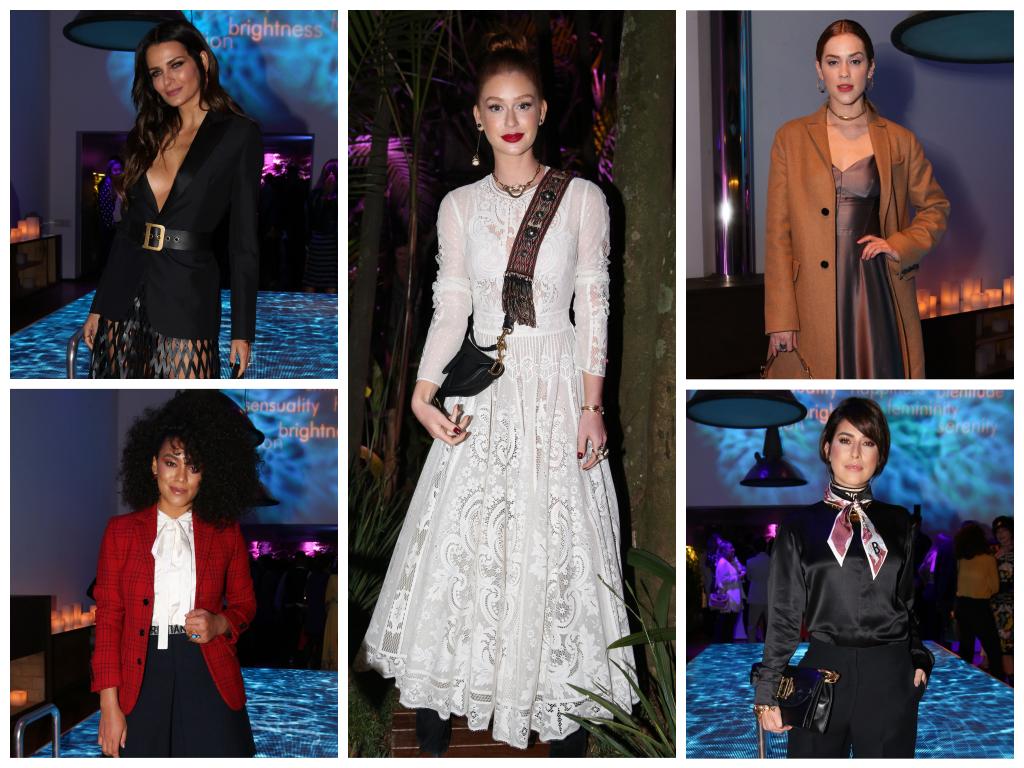 Famosas em evento da Dior (Fotos: Deividi Correa/AgNews)