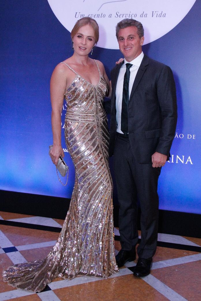 Angelica e Luciano Huck (Foto: Wallace Barbosa/AgNews)
