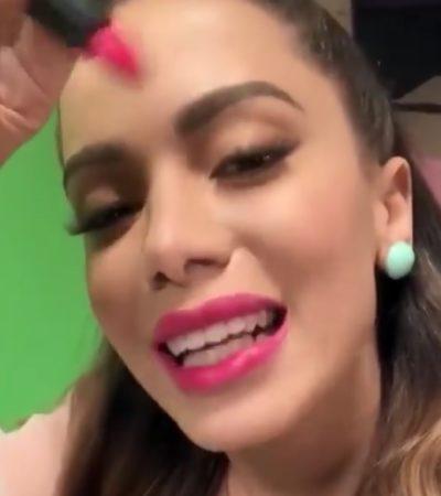 Anitta lança linha de batons a partir de R$ 13,90