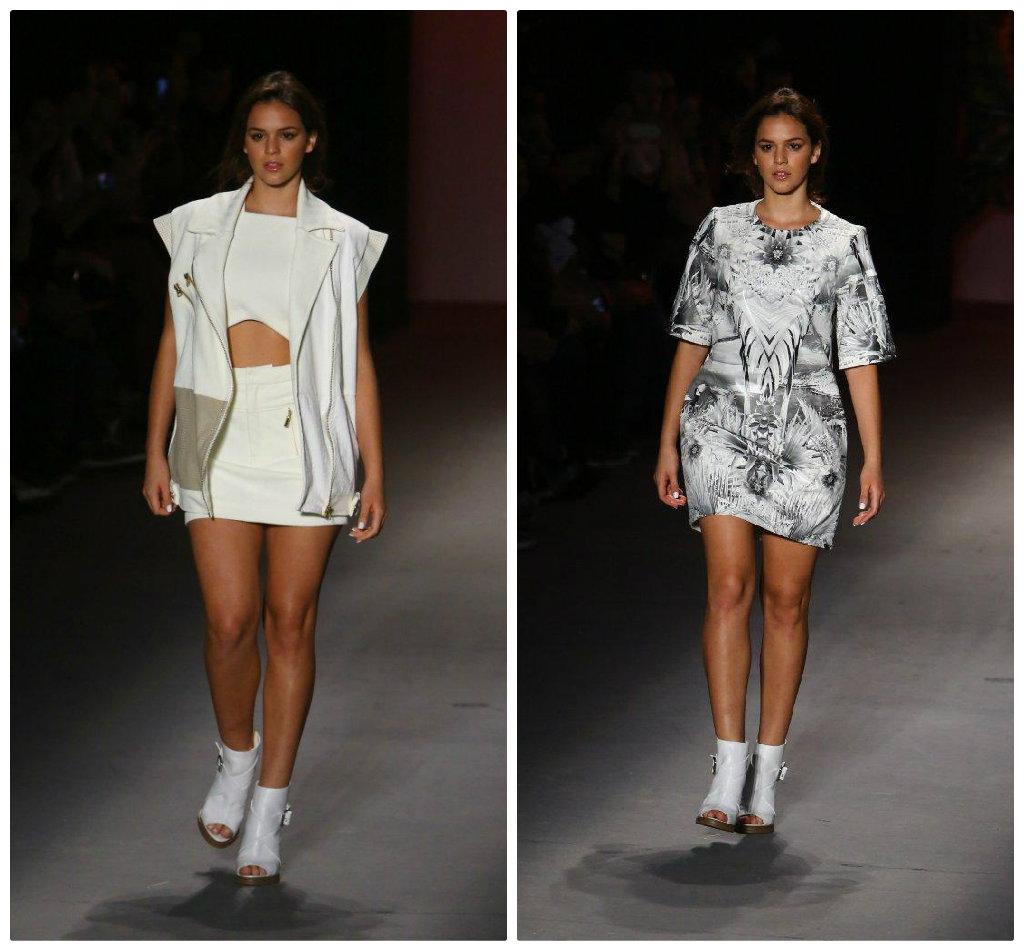 Bruna Marquezine no Fashion Rio de 2013 (Fotos: AgNews)