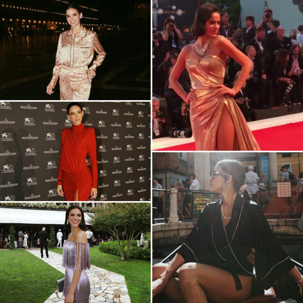 Looks da Bruna Marquezine na Itália (Fotos: @brumarquezine/Instagram/Reprodução)