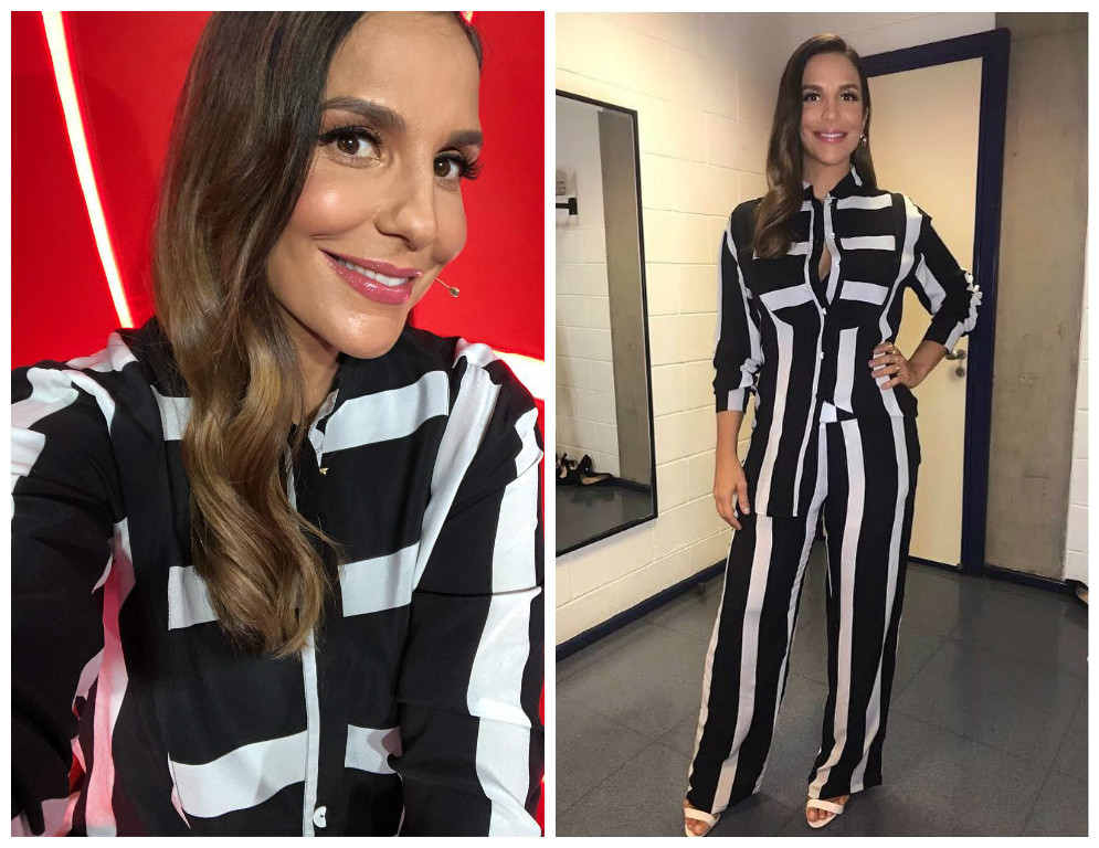 Ivete Sangalo com pijama The Paradise (Foto: Reprodução/Instagram/@ivetesangalo)