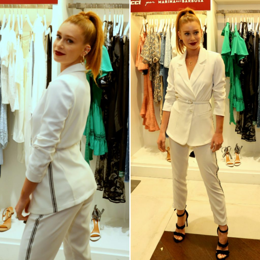 30920859d Marina Ruy Barbosa usa look branco de R$ 1 mil em lançamento
