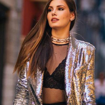 Em alta: Camila Queiroz e Galisteu adotam blazer com brilho