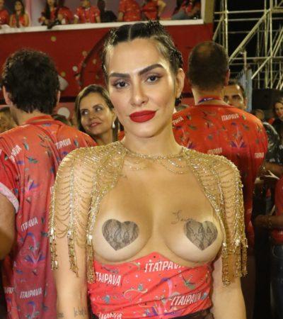 De corset a adesivo de mamilo: veja 5 looks de Cleo, 36 anos
