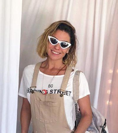 Casual: Giovanna Antonelli acerta com jardineira de R$ 799