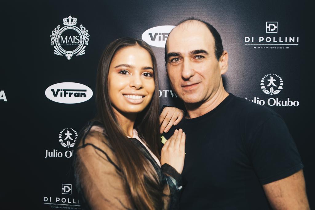 Emilia e Amir Slama (Foto: Divulgação)