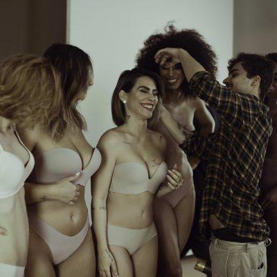 Cleo lança lingerie nude para todos os tons de pele: sensual