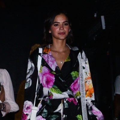 Marquezine veste macacão de R$ 3,2 mil em show da Sandy