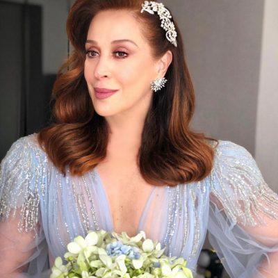 Anos 80: vestido de noiva de Claudia Raia aposta na tendência