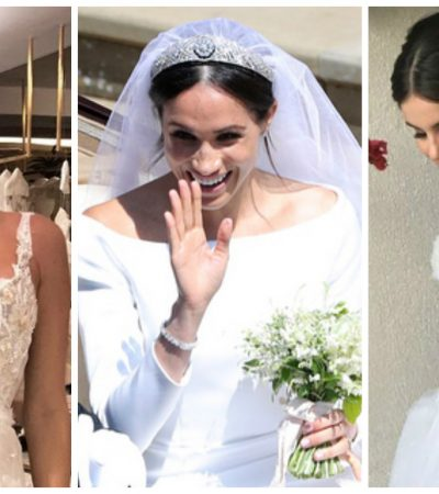 Meghan, Isis, Camila: relembre 10 vestidos de noiva de 2018