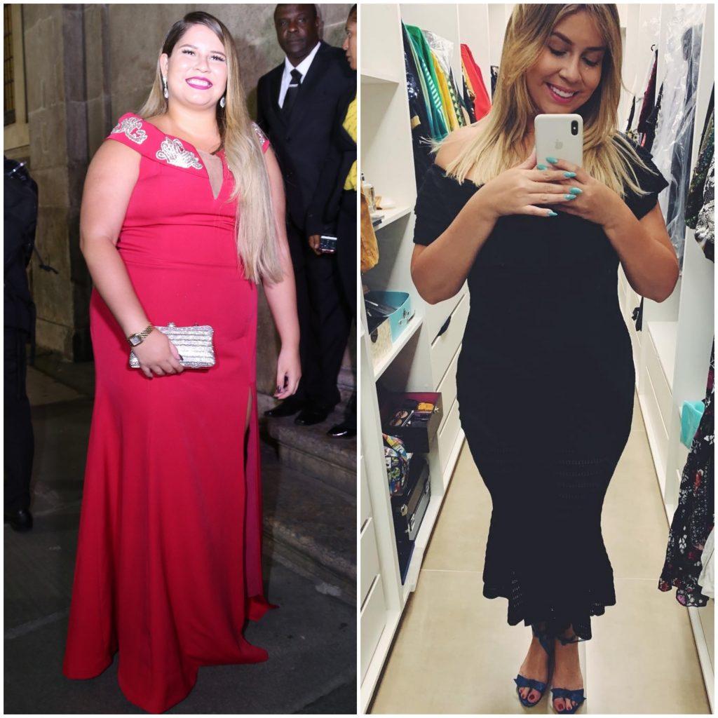 Antes e depois da Marília Mendonça (Fotos: Anderson Borde/AgNews - @mariliamendoncacantora/Instagram/Reprodução)